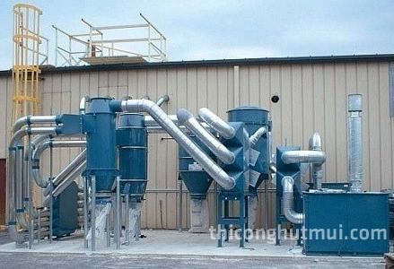 Qui trình xử lý khí thải bằng phương pháp hấp thụ